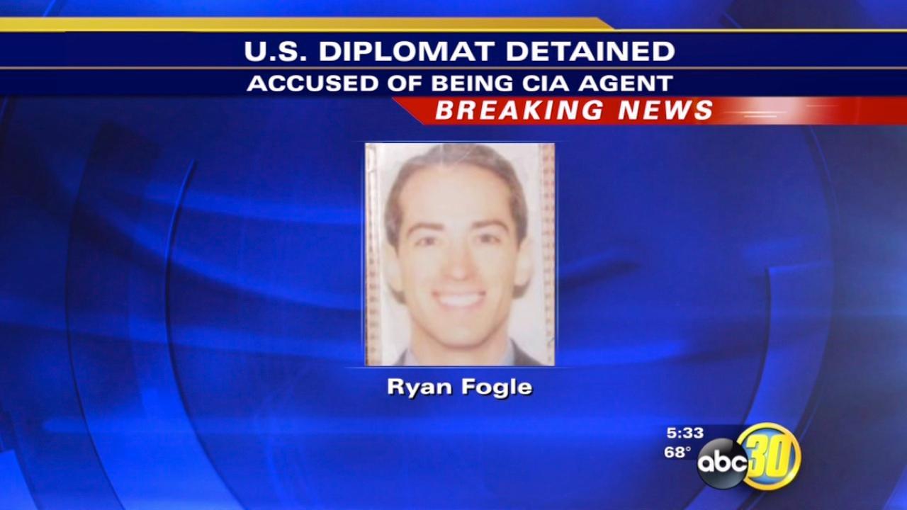 Ryan Fogle -- U.S. Diplomat accused of spying