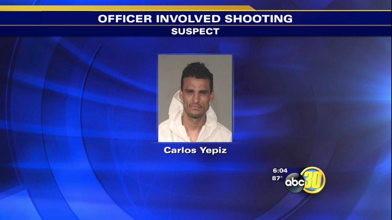 Fresno Police open fire on suspect after bike chase
