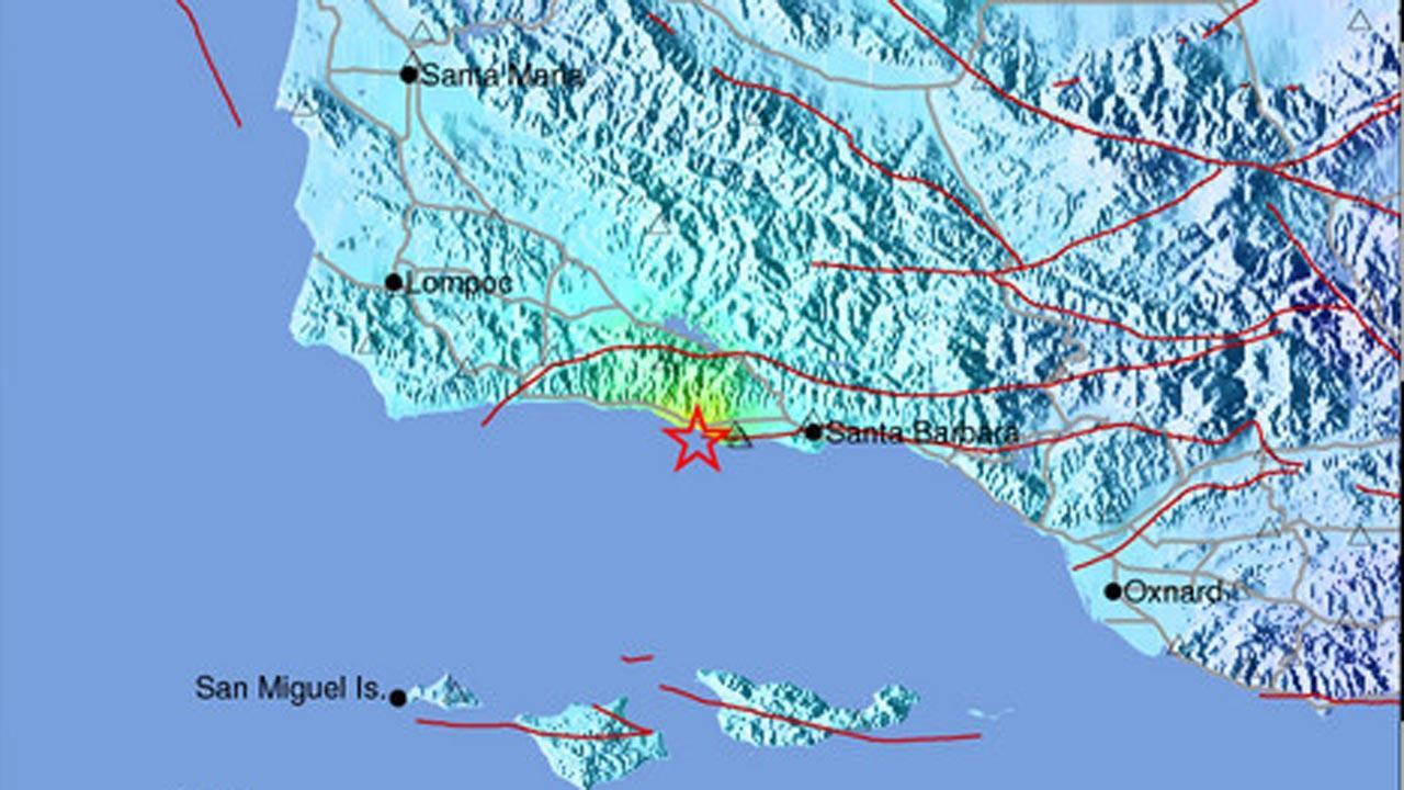 4.6 earthquake strikes near Santa Barbara