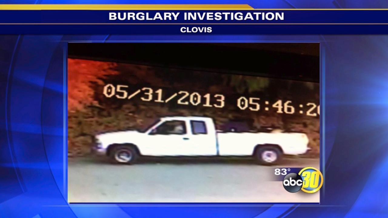 Police look for American Music Company burglars