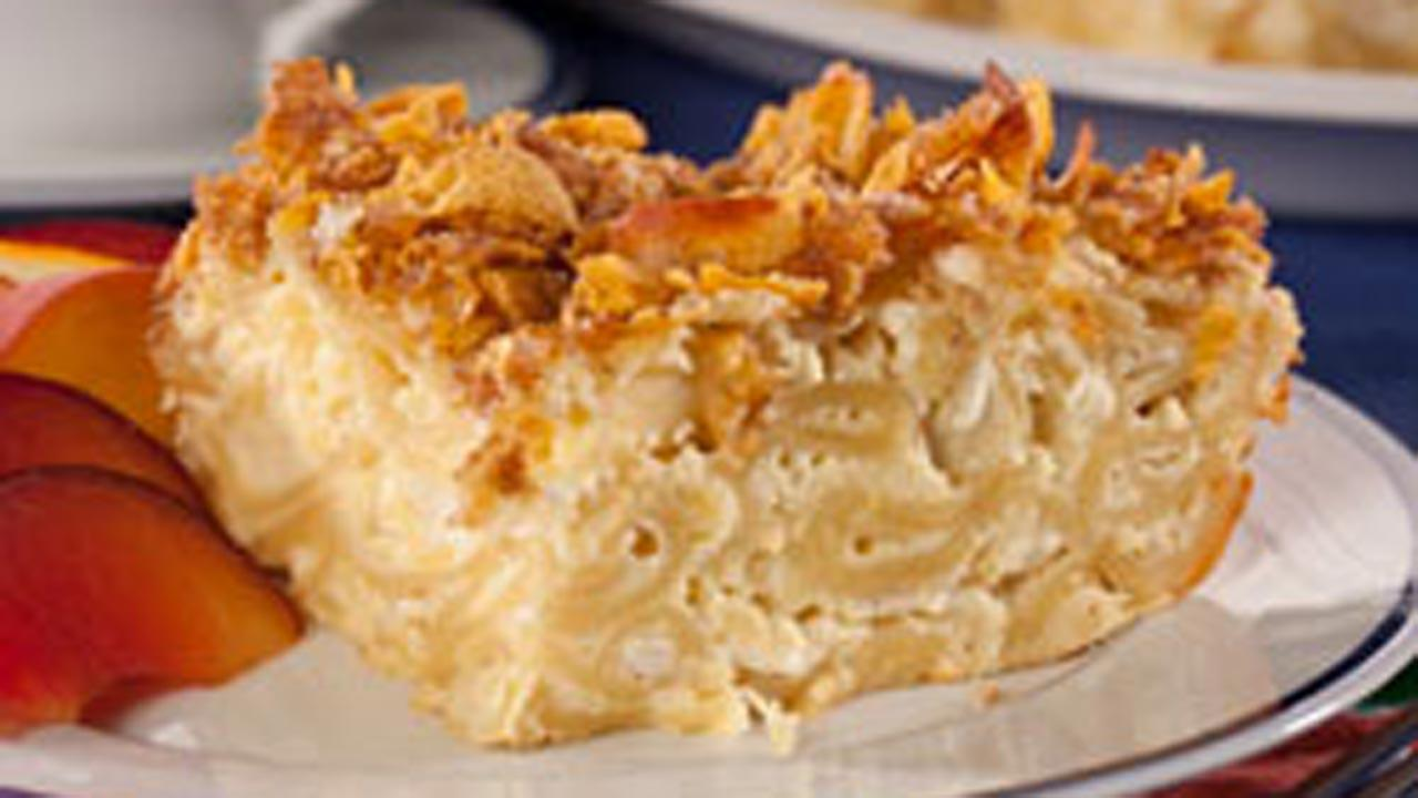 Pineapple Noodle Pudding