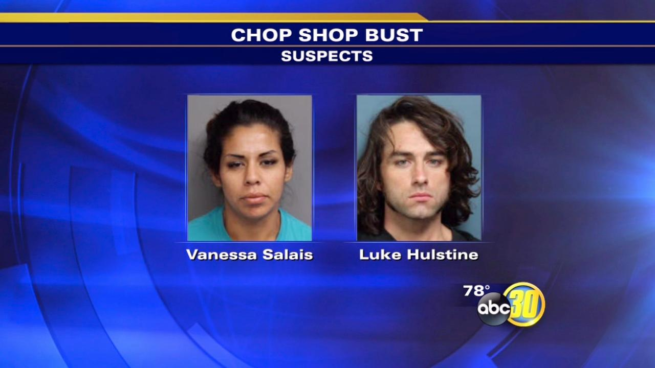 Chop shop and pot grow busted in Tulare County