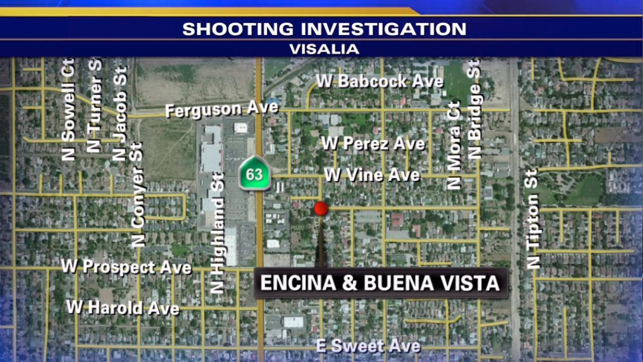 Two teens shot in Visalia drive-by