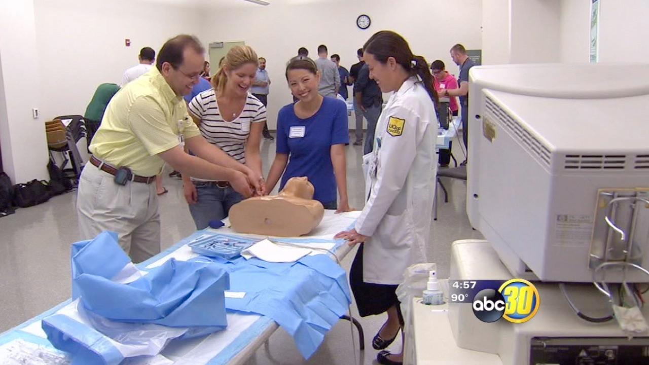 UCSF Medical Residents train Downtown Fresno