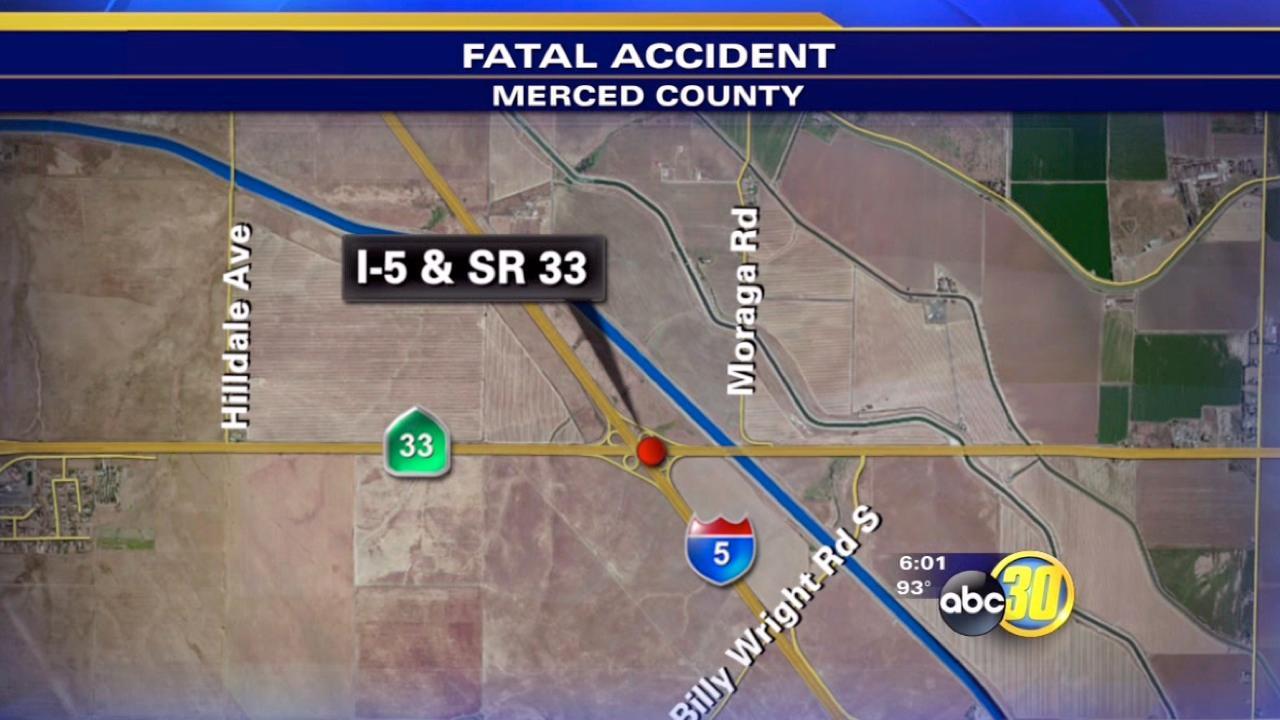 Fatal crash near Santa Nella