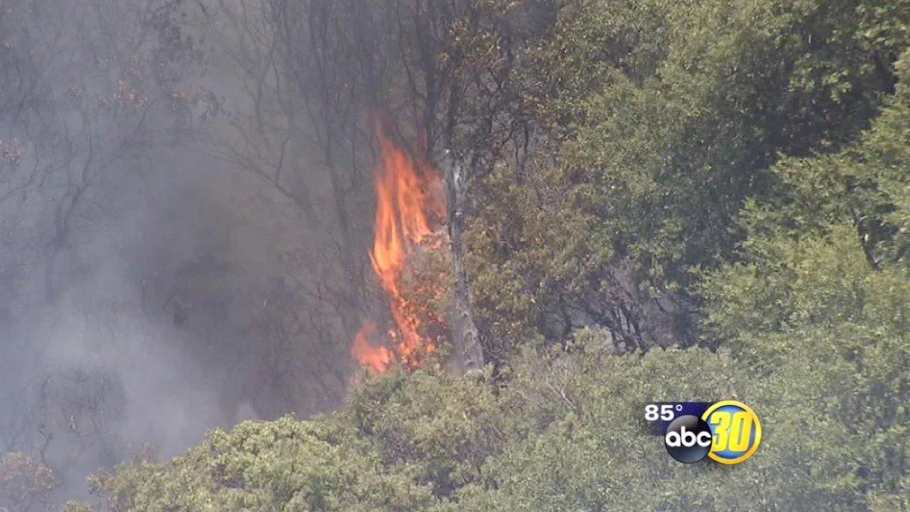Carstens Fire 90 percent contained