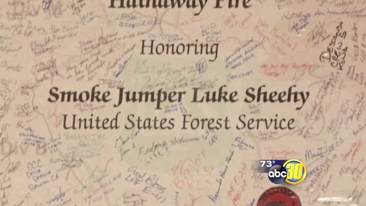 Redding Smokejumper crew member remembered