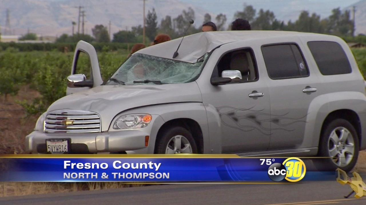 Skateboarding teen dies after being hit by a vehicle in Fresno County