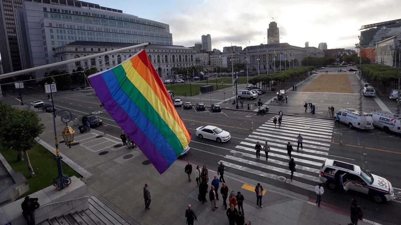 The Supreme Court on Wednesday struck down a provision of a U.S. law denying federal benefits to married gay couples and cleared the way for the resumption of same-sex marriage in the state of California