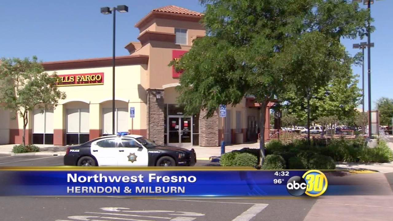 Wells Fargo Bank robbed in Northwest Fresno