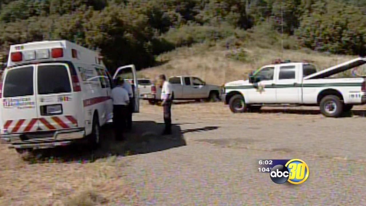 Fresno County Deputies recover form heat exhaust