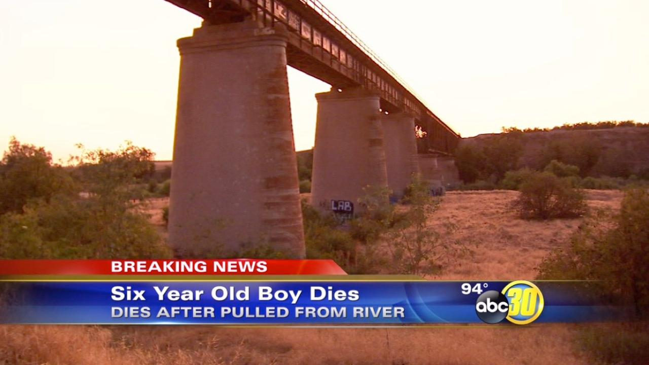 6-year-old boy dies in San Joaquin River