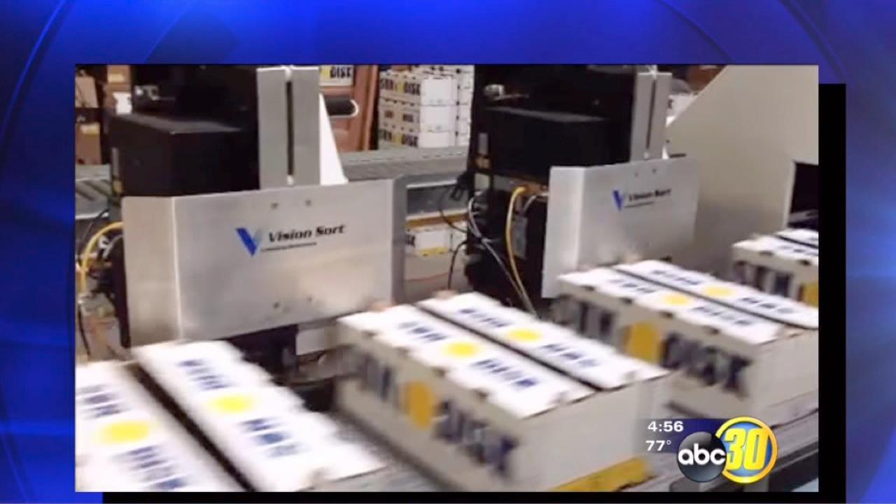 Reedley company introduces new produce labeling technology