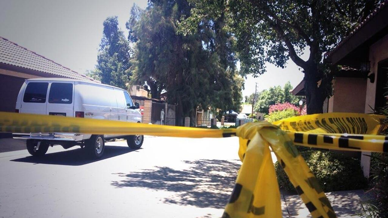 Two people were found dead at a condominium in Visalia, California.
