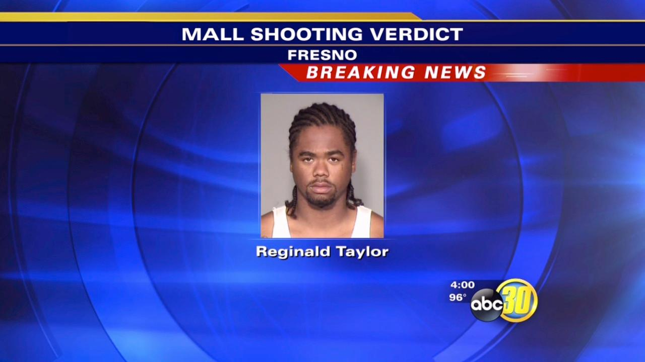 Man found guilty in shooting at Fresno's Manchester Mall