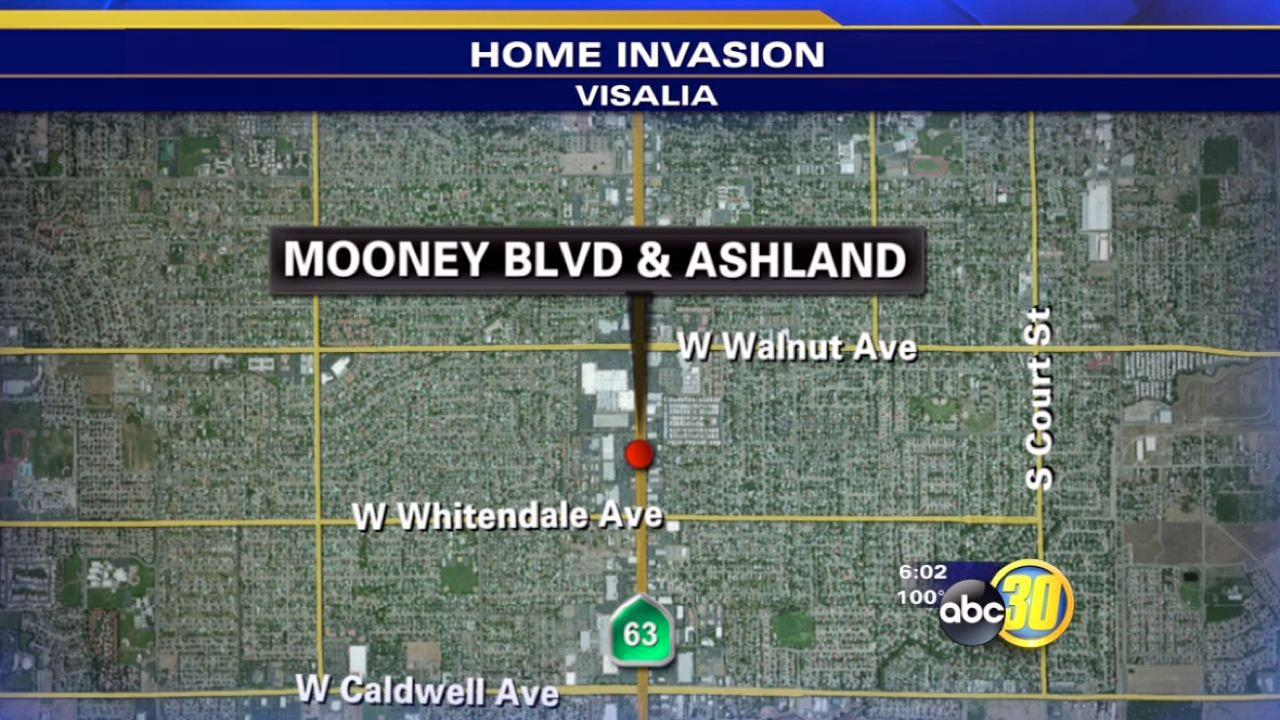Visalia man pistol whipped during home invasion