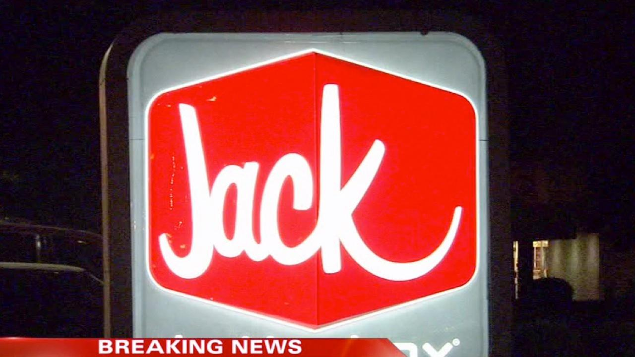 Armed robbery at a Jack in the Box in Northwest Fresno