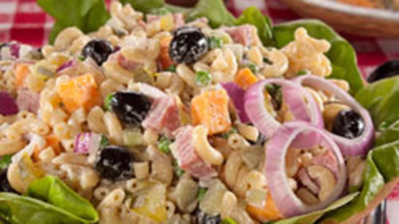 Kitchen Sink Macaroni Salad