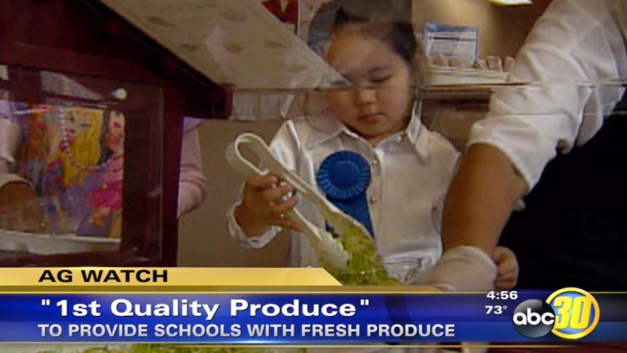 Fresno company to supply local schools