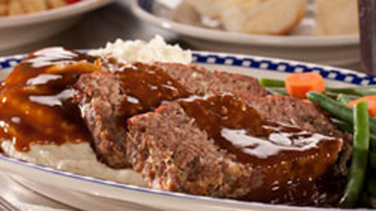 Diner-Style Meat Loaf