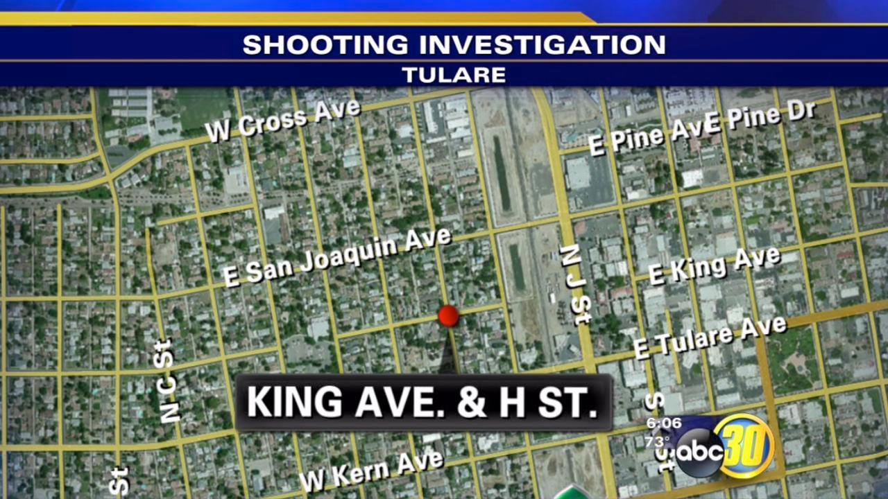 Two killed in Tulare shooting