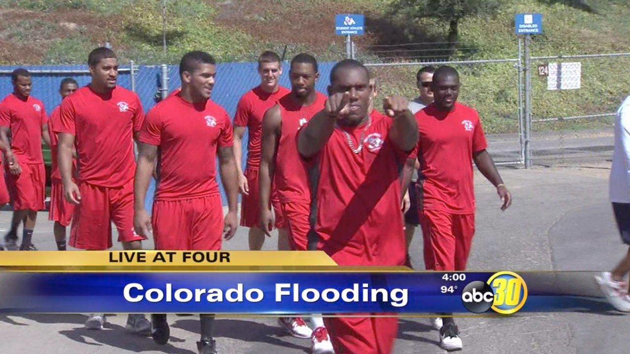 Fresno State game against Colorado postponed due to flash floods