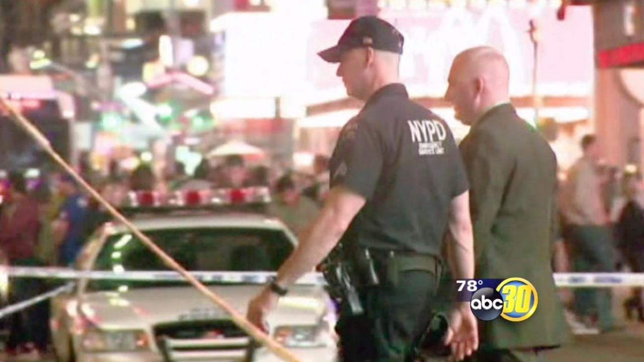 Two women accidentally shot by New York cops near Time Square