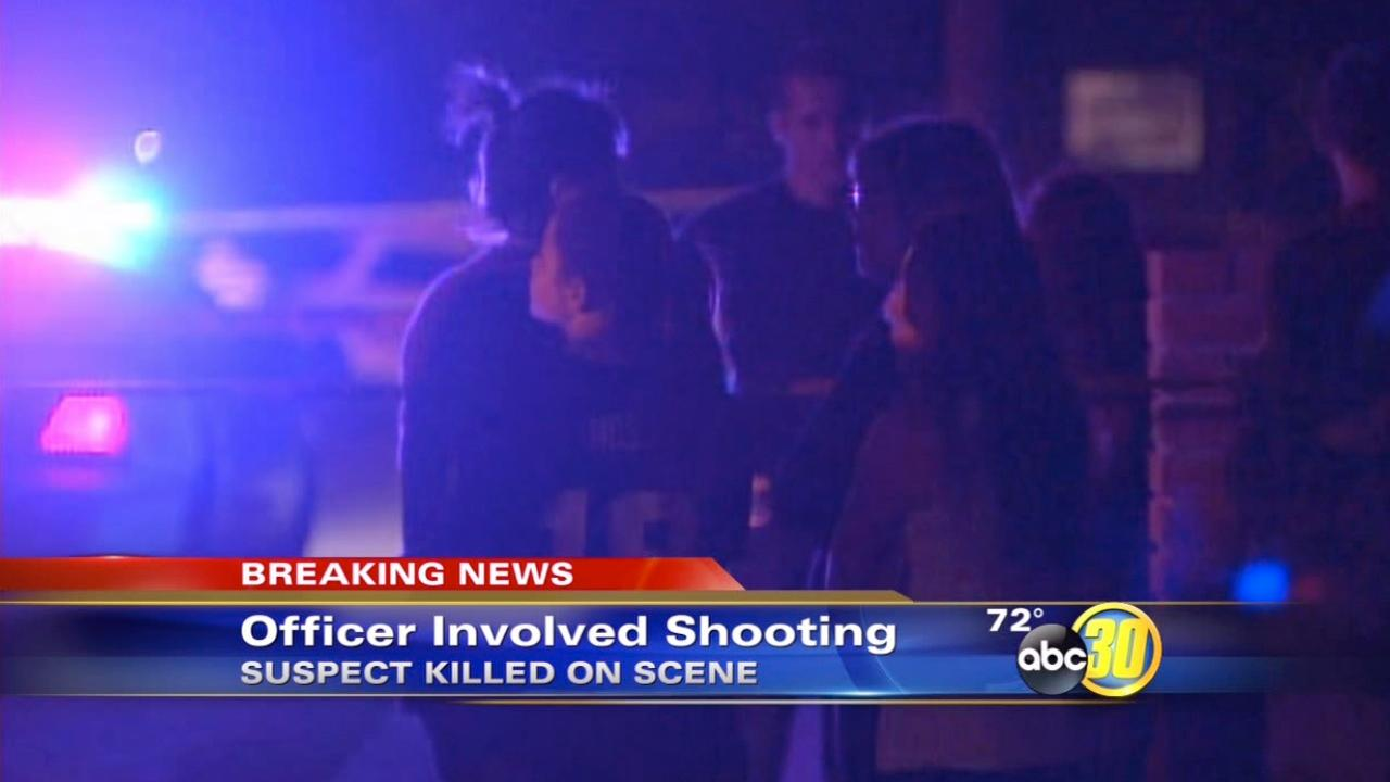 Fatal officer-involved shooting in the Tulare County town of Ivanhoe
