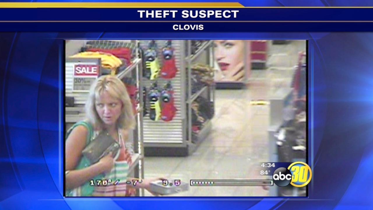 Clovis police look for Kohl's theft suspect