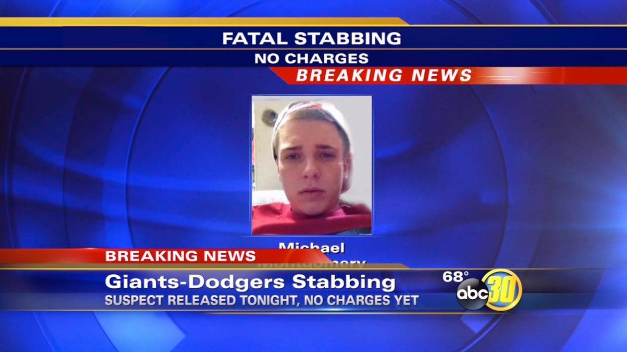 Suspect in stabbing of Dodger fan released form jail