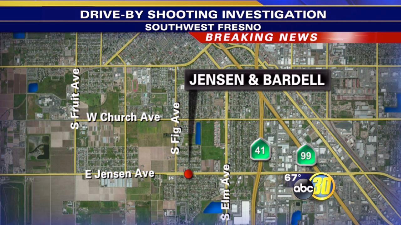 Teenage girl shot in the face in Southwest Fresno
