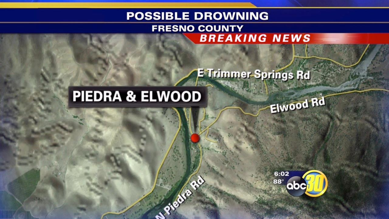 Authorities look for possible drowning victim in Kings River