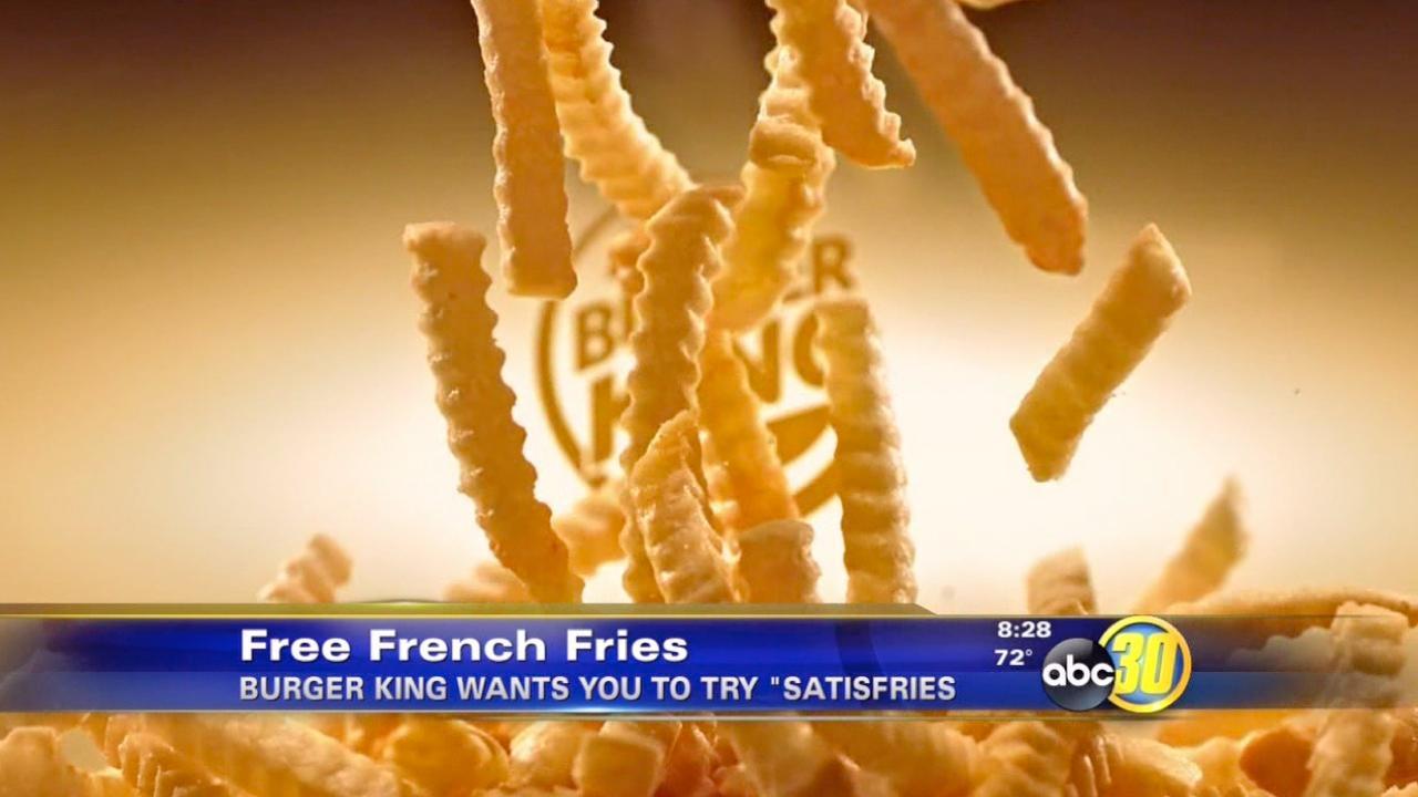 Burger King gives away free 'Satisfries'