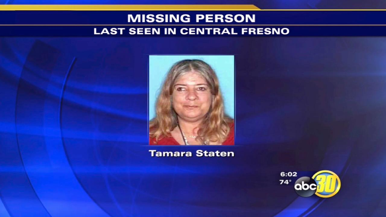 Fresno County Sheriff's Office searches for missing woman