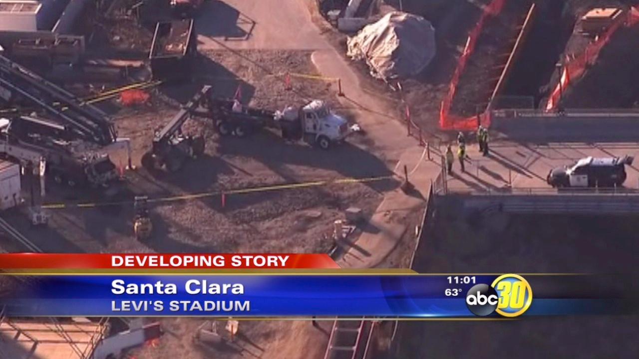 49ers stadium construction site worker dies in accident