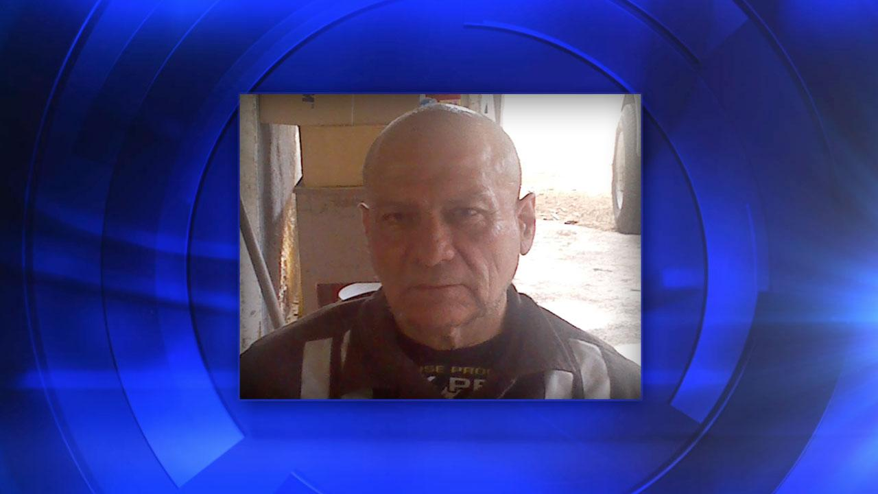 Missing man 68-year-old Frank Alvarez
