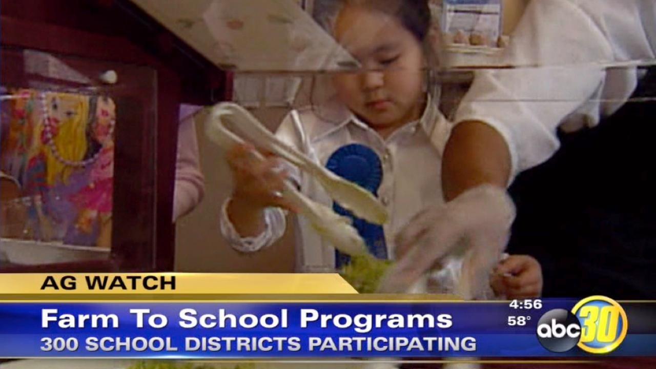 43 percent of schools have Farm-to-Schools program