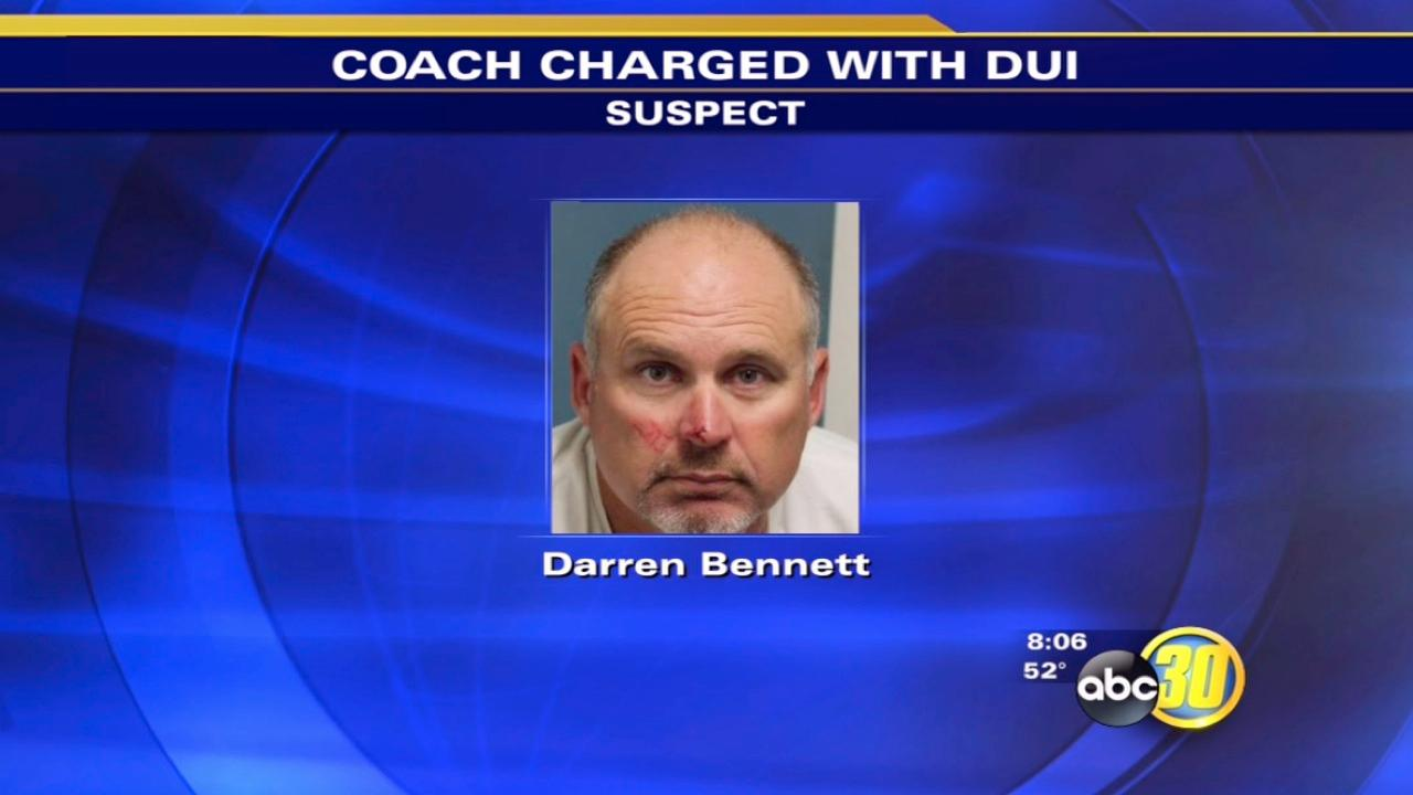 Former HS football coach in Tulare officially charged with DUI