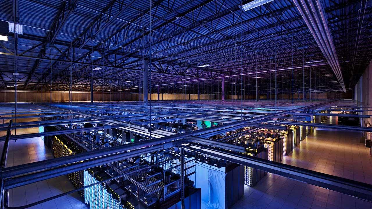 This undated photo provided by Google shows a Google data center in Hamina, Finland. The Washington Post is reporting Wednesday, Oct. 30, 2013, that the National Security Agency