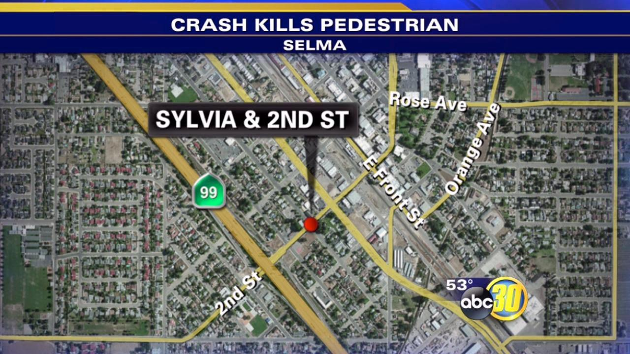 Pedestrian killed in Selma crash