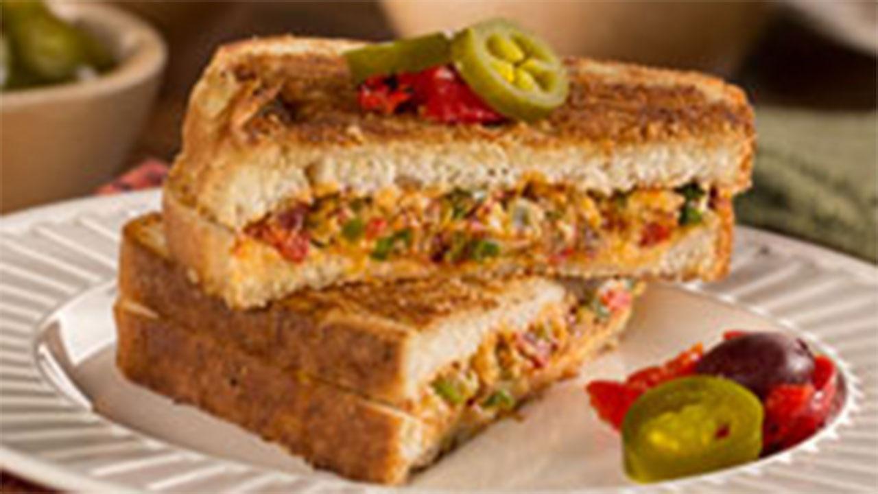 Pickled Pepper Popper Sandwich