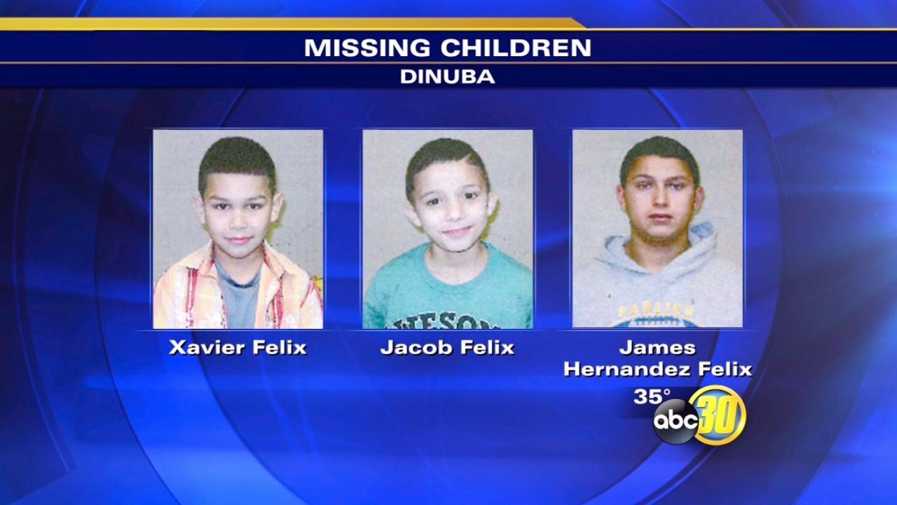 Three missing Dinuba children found safe