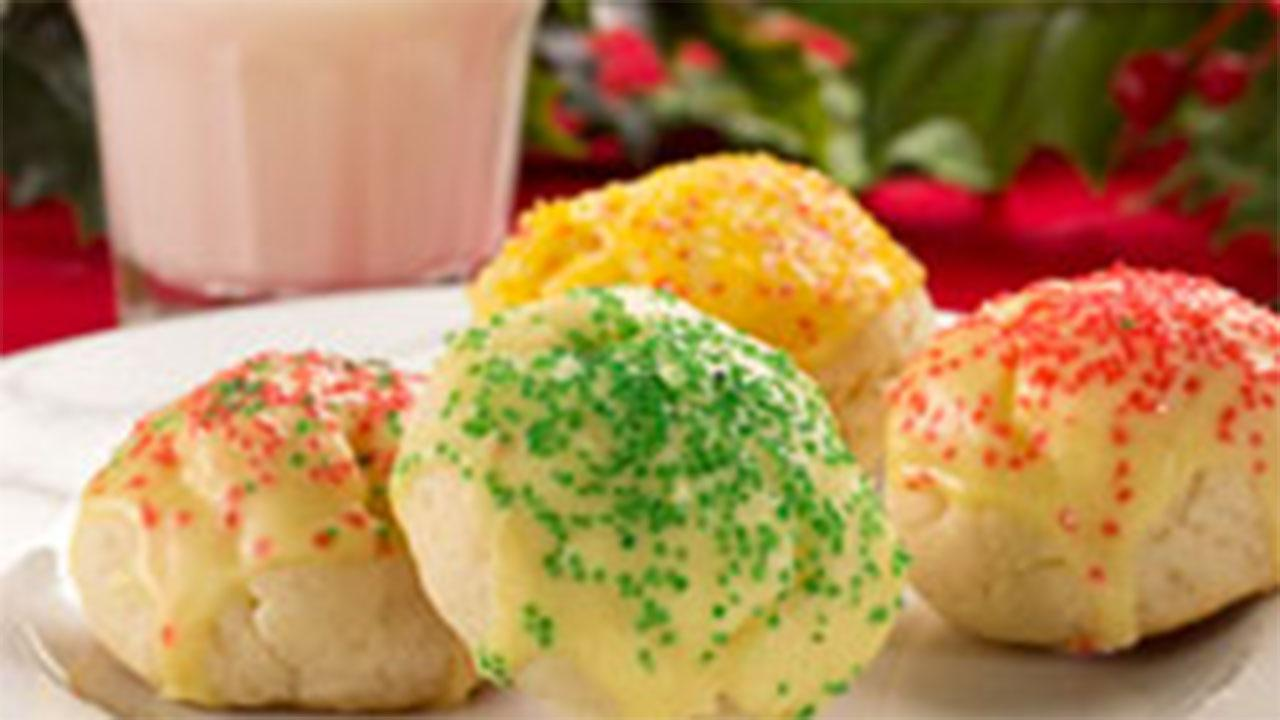 Mrs. Claus' Lemon Cookies