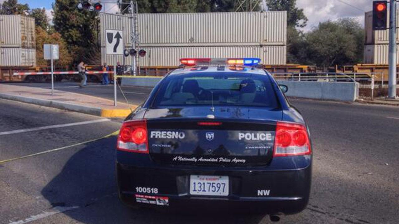 Train hits pedestrian and dog near Palm and Dakota Avenues in Fresno