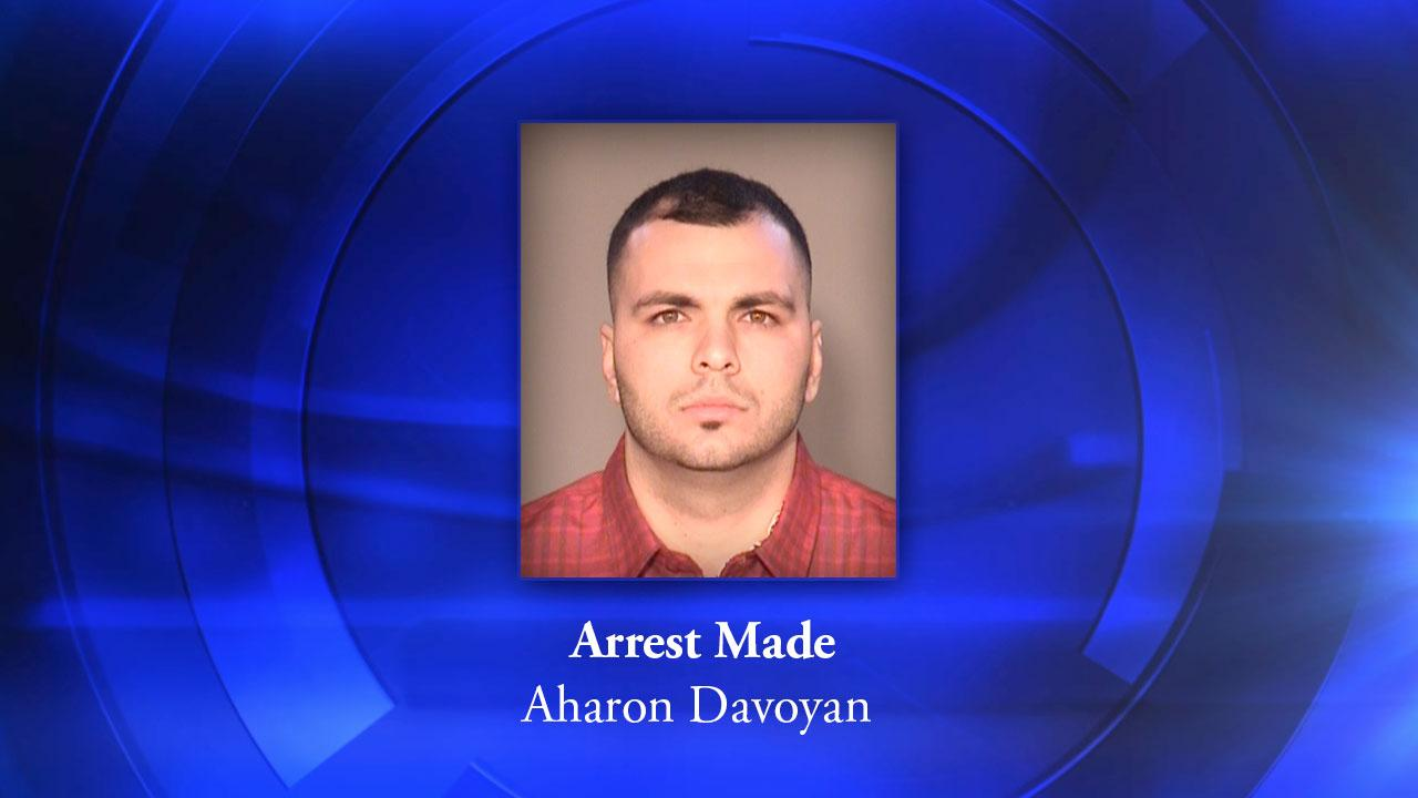 Beating suspect Aharon Davoyan