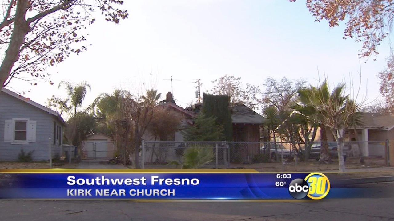 Four displaced after a fire in Southwest Fresno