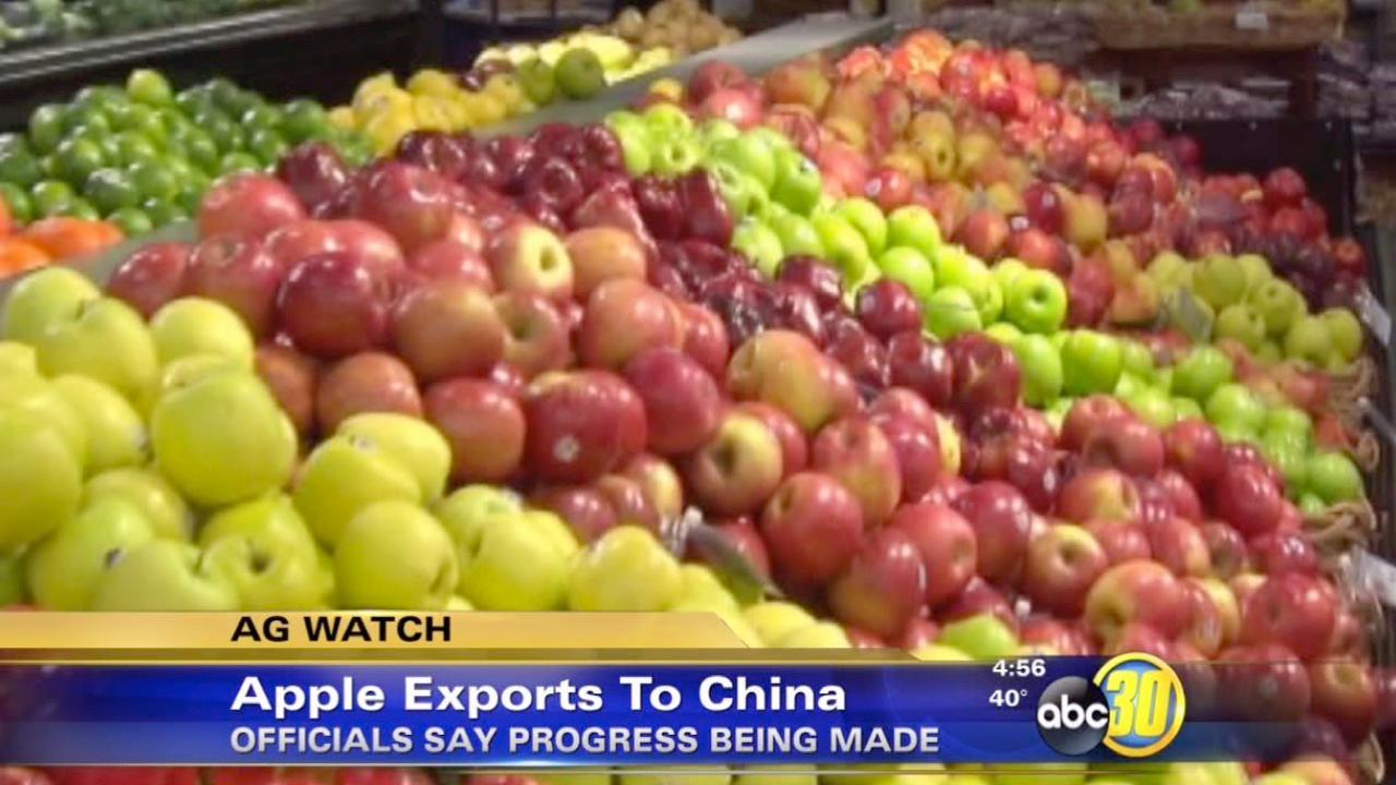 China set to remove apple ban