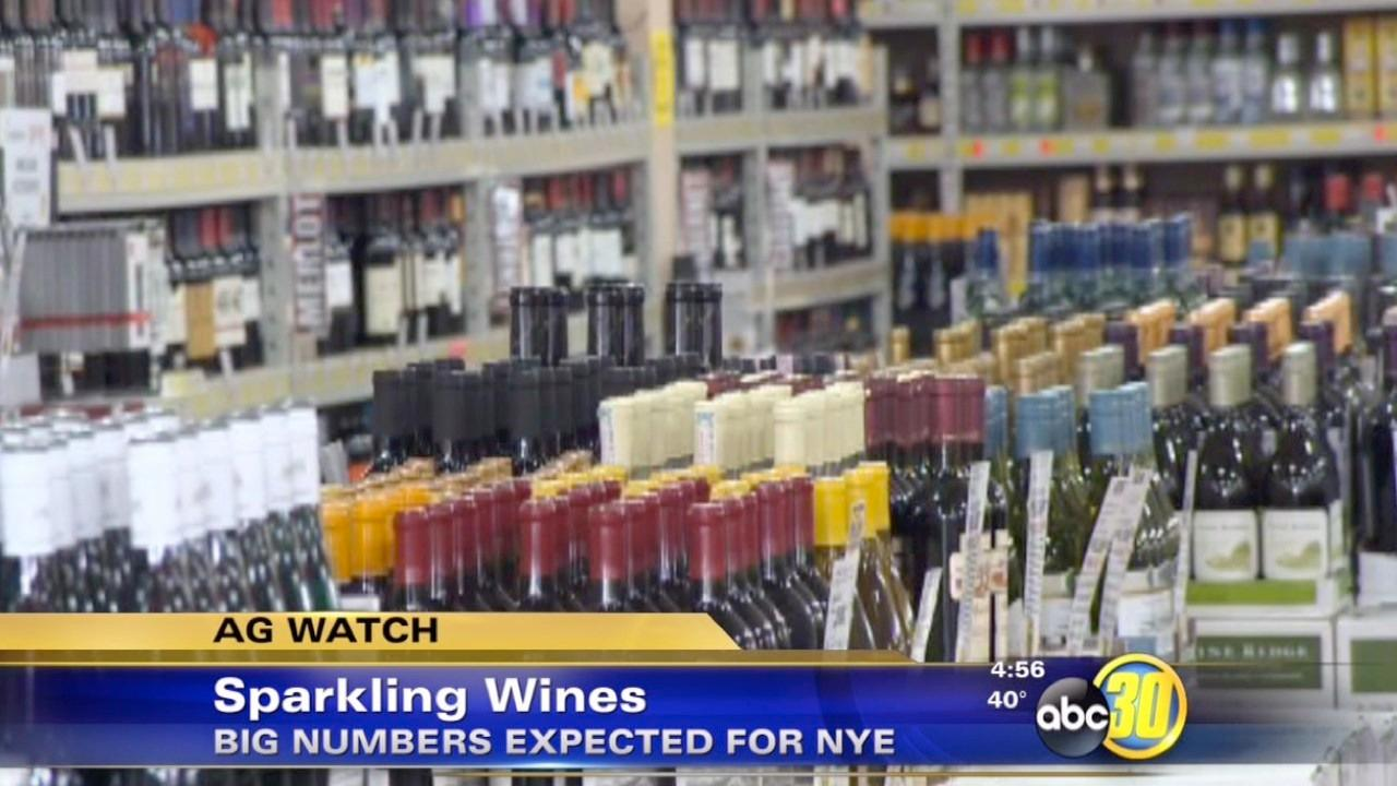 California sparkling wine grape sales increase at end of year