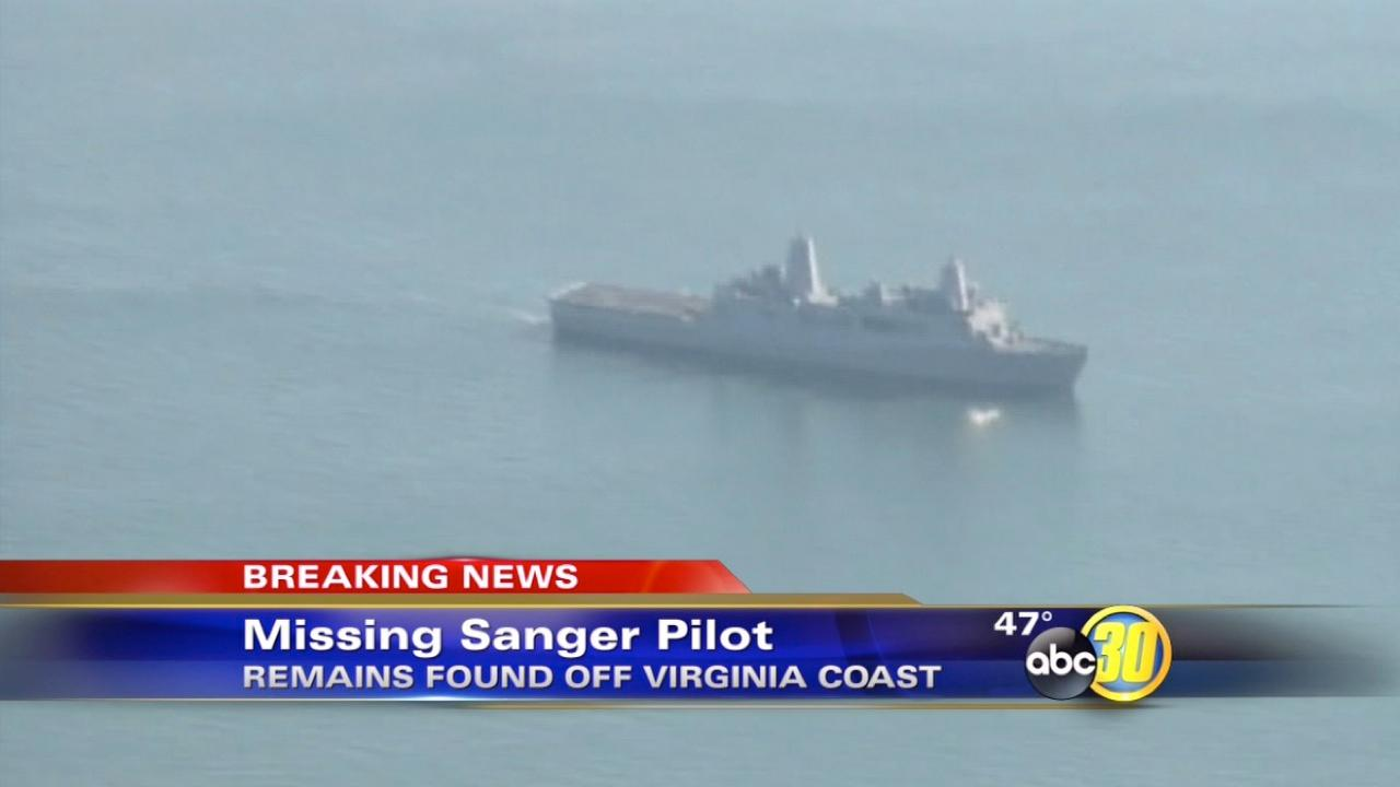 Remains of Sanger Navy crewman found off the coast of Virginia