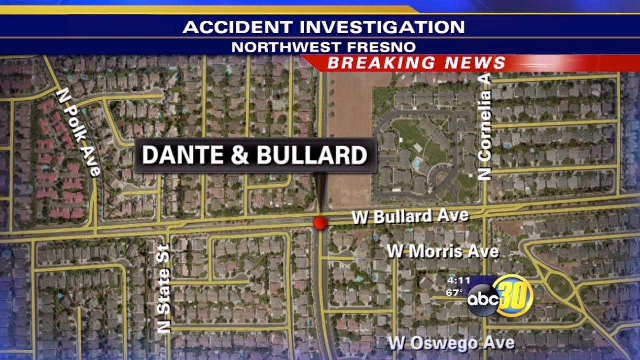 Car crashes into a Fresno Unified school bus